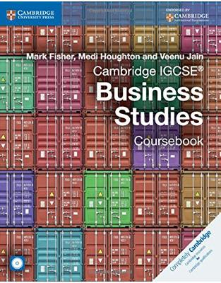 Libraria online eBookshop - Cambridge IGCSE® Business Studies Coursebook with CD-ROM  -  Mark Fisher,‎ Medi Houghton,‎ Veenu Jain - CUP Cambridge
