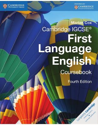 Libraria online eBookshop - Cambridge IGCSE First Language English Coursebook - Marian Cox  - Cambridge University Press