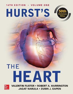 Libraria online eBookshop - Hurst the Heart: Two Volume Set. 14th edition - Valentin Fuster,  Robert A. Harrington,  Jagat Narula and Zubin J. Eapen - McGraw-Hill