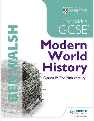 Libraria online eBookshop - Cambridge IGCSE Modern World History  - Michael Scott-Baumann,‎ Ben Walsh  - Hodder Education