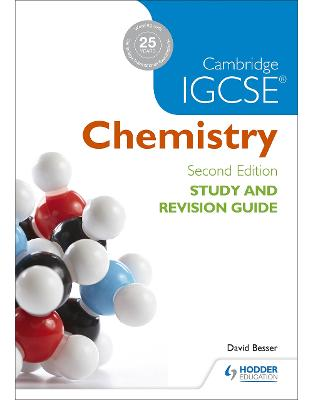 Libraria online eBookshop - Cambridge IGCSE Chemistry Study and Revision Guide (Igcse Study Guides) -  David Besser - Hodder Education