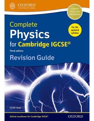 Libraria online eBookshop - Complete Physics for Cambridge IGCSE ® Revision Guide (Igcse Revision Guides)  - Sarah Lloyd - OUP Oxford