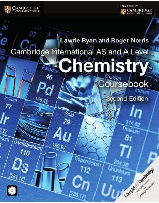 Libraria online eBookshop - Cambridge International AS and A Level Chemistry Coursebook with CD-ROM (Cambridge International Examinations)  -  Lawrie Ryan,‎ Roger Norris  - Cambridge University Press