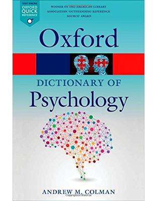 Libraria online eBookshop - A Dictionary of Psychology 4/e (Oxford Quick Reference) - Andrew M. Colman - OUP Oxford
