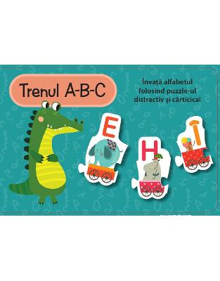TRENUL A-B-C (Set carte + puzzle)