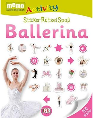 Memo Activity-Sticker RtselSpa Ballerina