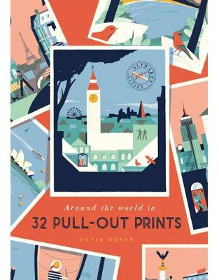 Libraria online eBookshop - Alphabet Cities: Around the World in 32 Pull-out Prints - David Doran  - Virgin Publishing