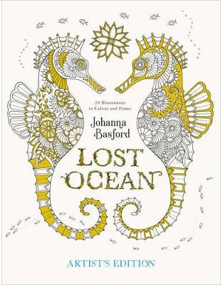 Libraria online eBookshop - Lost Ocean Artist's Edition - Johanna Basford  - Virgin Publishing