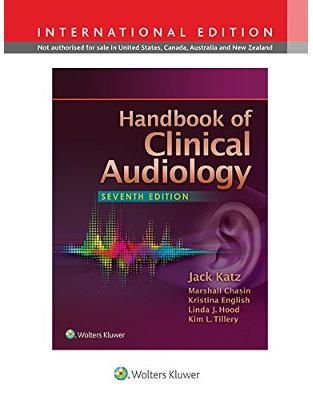 Libraria online eBookshop - Handbook of Clinical Audiology, 7e  - Jack Katz - LWW