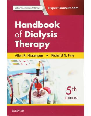 Libraria online eBookshop - Handbook of Dialysis Therapy, 5th Edition - Allen R. Nissenson, Richard E. Fine - Elsevier