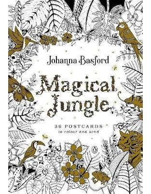 Libraria online eBookshop - Magical Jungle: 36 Postcards to Colour and Send (Colouring) - Johanna Basford - Virgin Publishing