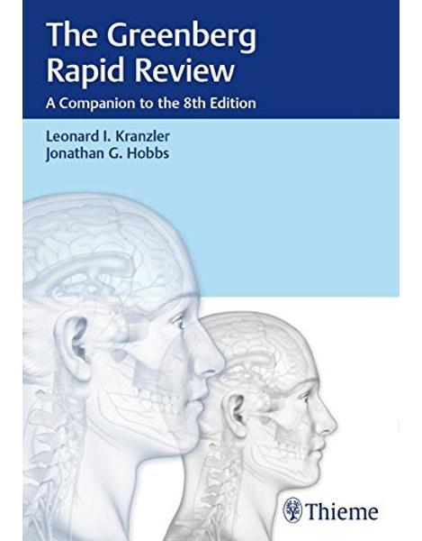 Libraria online eBookshop - The Greenberg Rapid Review: A Companion to the 8th Edition - Leonard I. Kranzler, Jonathan Hobbs  - Thieme