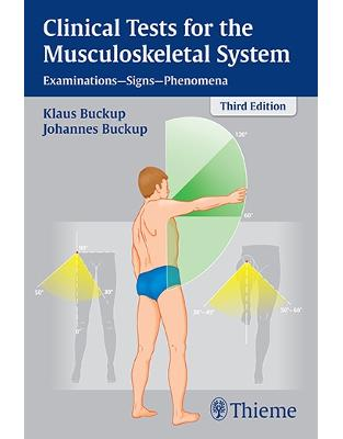 Libraria online eBookshop - Clinical Tests for the Musculoskeletal System - K Buckup, Johannes Buckup  - Thieme