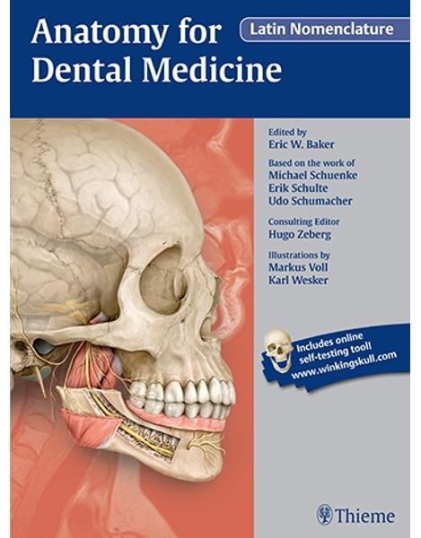 Libraria online eBookshop - Anatomy for Dental Medicine, Latin Nomenclature - Eric W. Baker , Michael Schuenke , Erik Schulte, Udo Schumacher, Markus Voll, Karl H. Wesker - Thieme