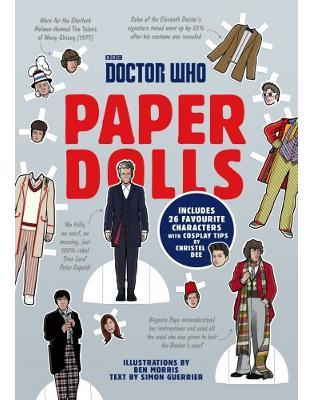Libraria online eBookshop - Doctor Who Paper Dolls - Simon Guerrier, Christel Dee, Ben Morris - Random House