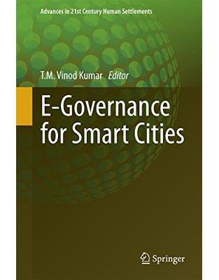 Libraria online eBookshop - E-Governance for Smart Cities - T. M. Vinod Kumar - Springer