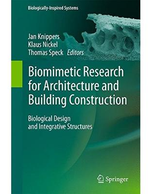 Libraria online eBookshop - Biomimetic Research for Architecture and Building Construction - Jan Knippers , Klaus G. Nickel - Springer