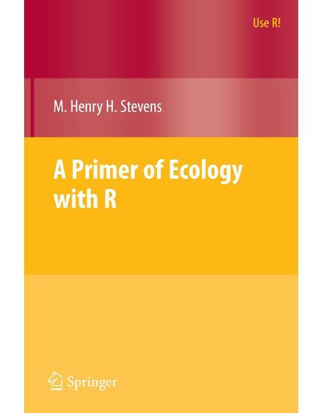 Libraria online eBookshop - A Primer Of Ecology With R (Use R) - M. Henry Stevens  - Springer
