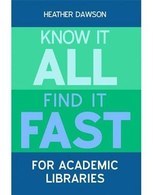 Libraria online eBookshop - Know it All, Find it Fast for Academic Libraries - Heather Dawson  - Facet