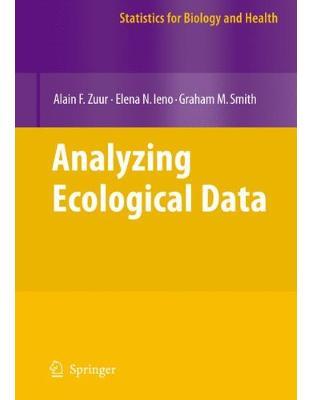 Libraria online eBookshop - Analyzing Ecological Data - Alain F. Zuur, Elena N. Ieno - Springer