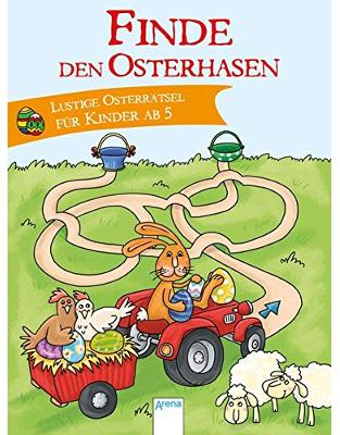 Finde den Osterhasen: Lustige Osterrätsel für Kinder ab 5