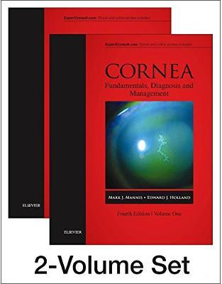 Libraria online eBookshop - Cornea, 2-Volume Set, 4th Edition  - Mark J Mannis,  Edward J Holland - Elsevier
