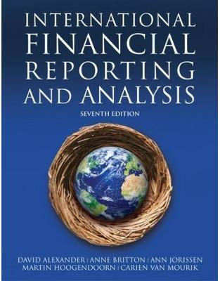 Libraria online eBookshop - International Financial Reporting and Analysis - Ann Jorissen,Anne Britton , Carien Van Mourik - Cengage Learning EMEA
