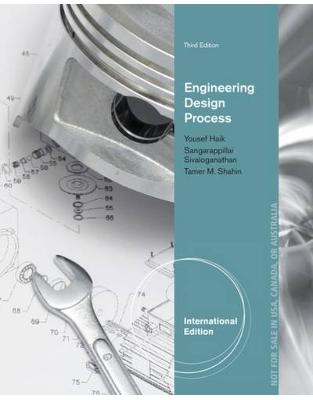 Libraria online eBookshop - Engineering Design Process, International Edition - Tamer Shahin , Sangarappillai Sivaloganathan,Yousef Haik - Cengage Learning EMEA