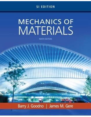 Libraria online eBookshop - Mechanics of Materials, SI Edition -  Barry Goodno, James Gere - Cengage Learning EMEA