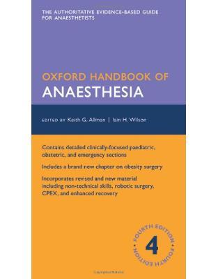 Libraria online eBookshop - Oxford Handbook of Anaesthesia - Keith Allman, Iain Wilson, Aidan O'Donnell - Oxford University Press