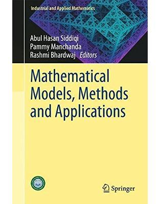 Libraria online eBookshop - Mathematical Models, Methods and Applications  - Abul Hasan Siddiq, Pammy Manchanda, Rashmi Bhardwaj - Springer