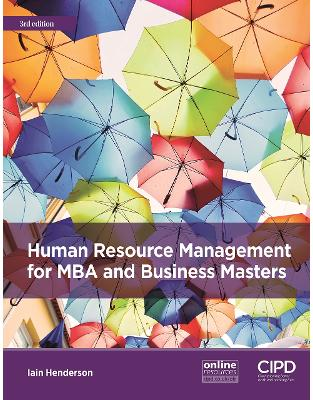 Libraria online eBookshop - Human Resource Management for MBA and Business Masters -  Iain Henderson - Kogan Page
