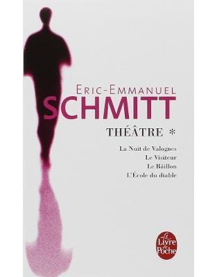 Libraria online eBookshop - Theatre 1 - La nuit de valognes, Le visiteur, Le baillon, l'ecole du diable  - Eric-Emmanuel Schmitt - HACHETTE