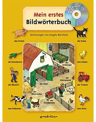 Libraria online eBookshop - Mein erstes Bildwörterbuch, mit Sprach-CD - Angela Weinhold  - Gondolino