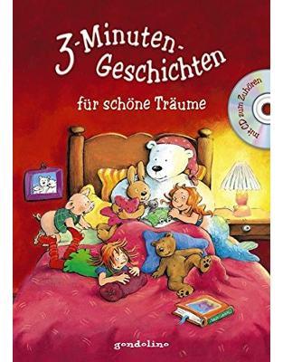 Libraria online eBookshop - 3-Minuten-Geschichten für schöne Träume m. CD - Gondolino - Gondolino
