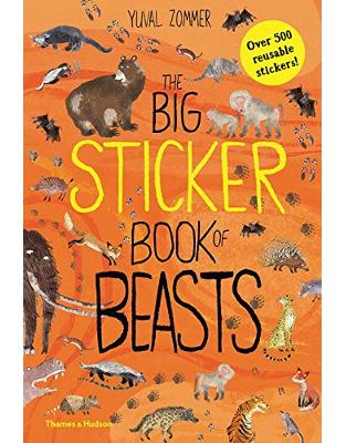 Libraria online eBookshop - The Big Sticker Book of Beasts (Sticker Books) - Yuval Zommer  - Thames and Hudson Ltd