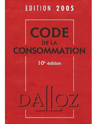 Code de la consommation 2005