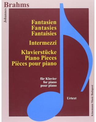 Libraria online eBookshop - Brahms, Fantasien, Intermezzi und Klavierstücke -  praca zbiorowa - KONEMANN