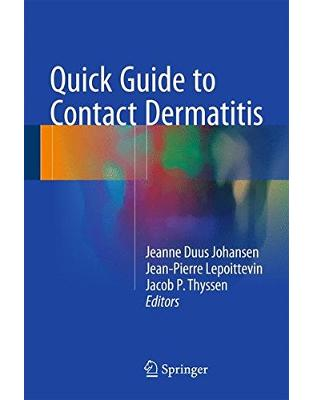 Libraria online eBookshop - Quick Guide to Contact Dermatitis -  Jeanne Duus Johansen,‎ Jean-Pierre Lepoittevin,‎ Jacob P. Thyssen - Springer