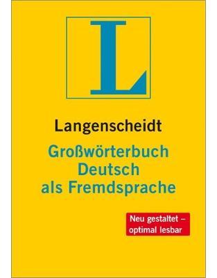 Langenscheidt Großworterbuch Deutsch als Fremdsprache