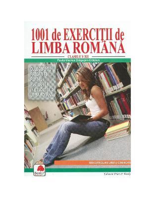 1001 exercitii de limba romana