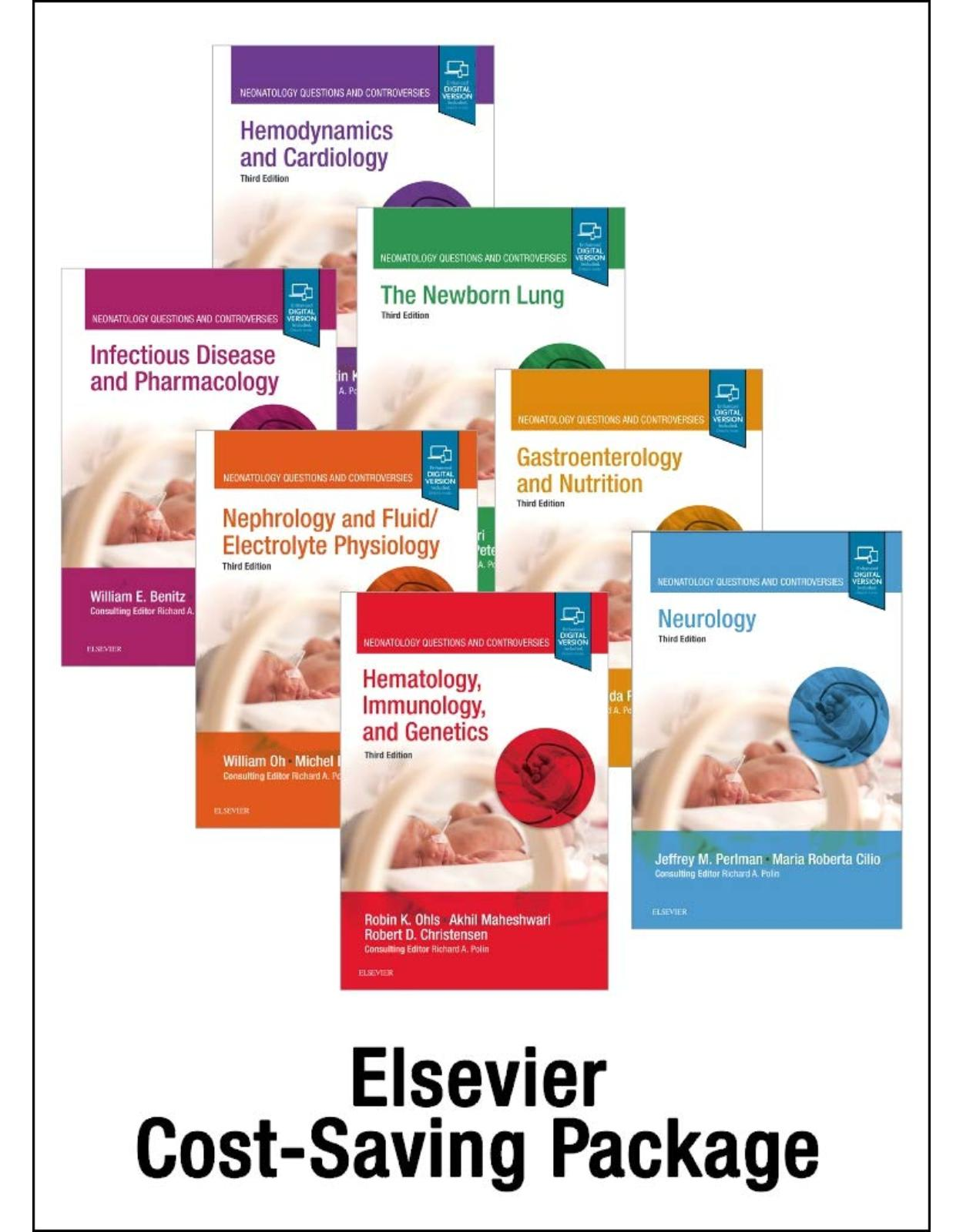 Neonatology: Questions and Controversies Series 7-volume Series Package, 3e