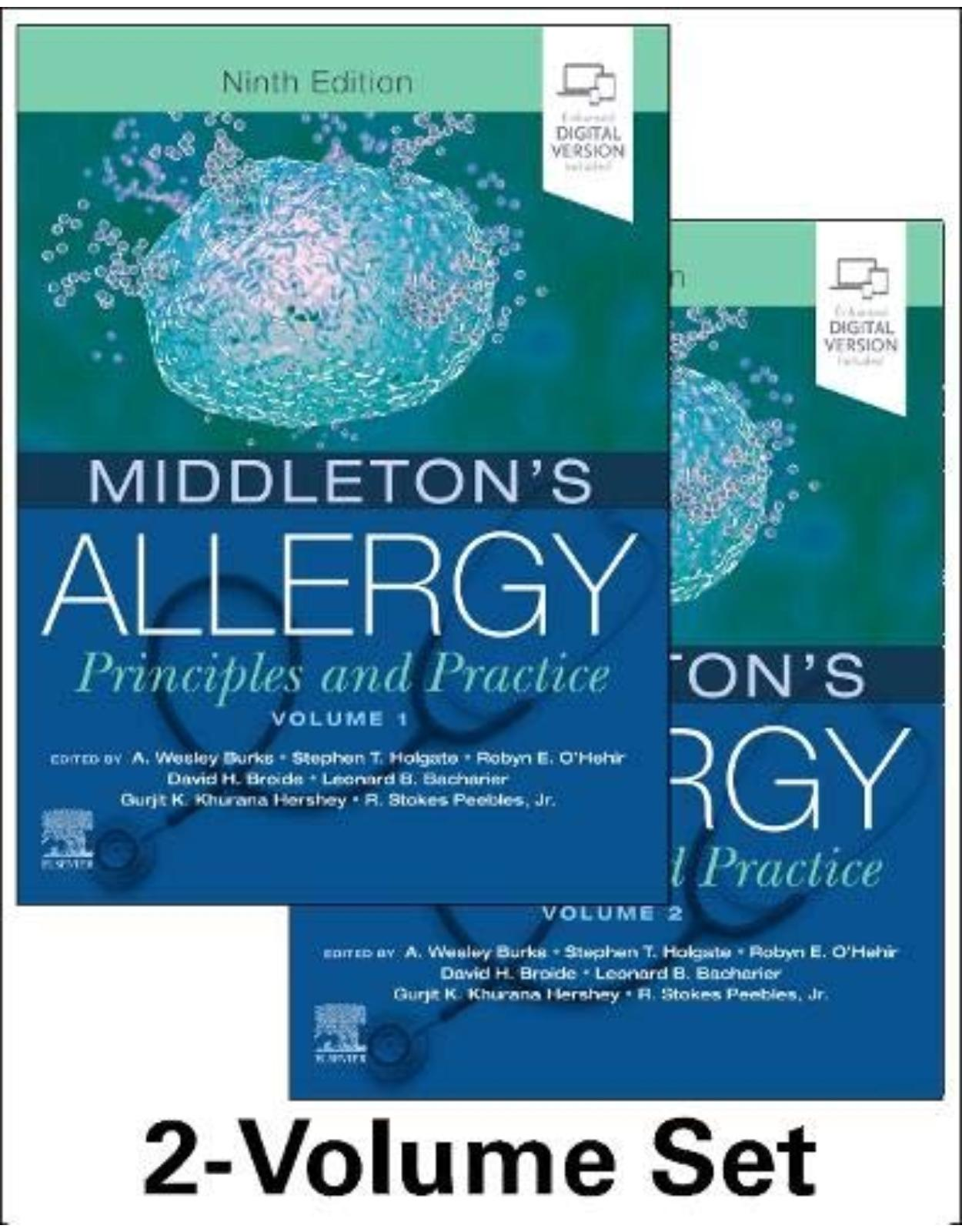 Middleton s Allergy 2-Volume Set, 9th Edition