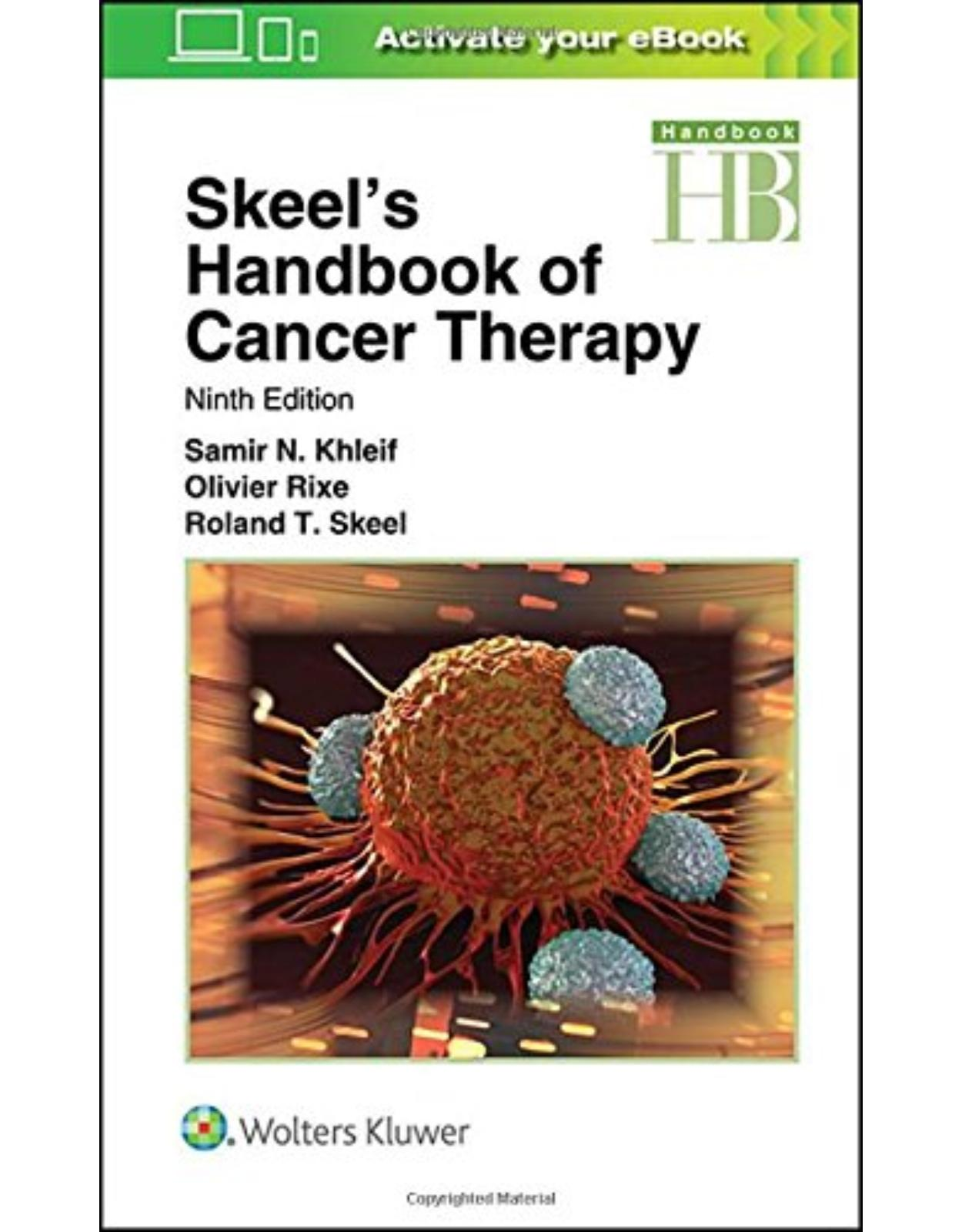 Skeel's Handbook of Cancer Therapy, 9e