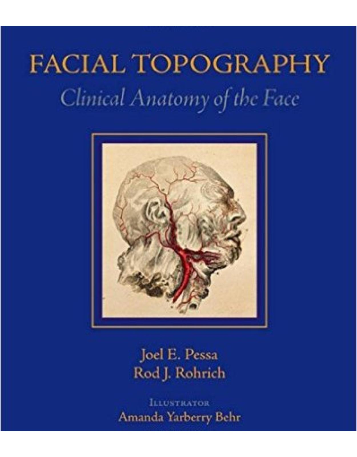 Facial Topography: Clinical Anatomy of the Face Har/DVD Edition