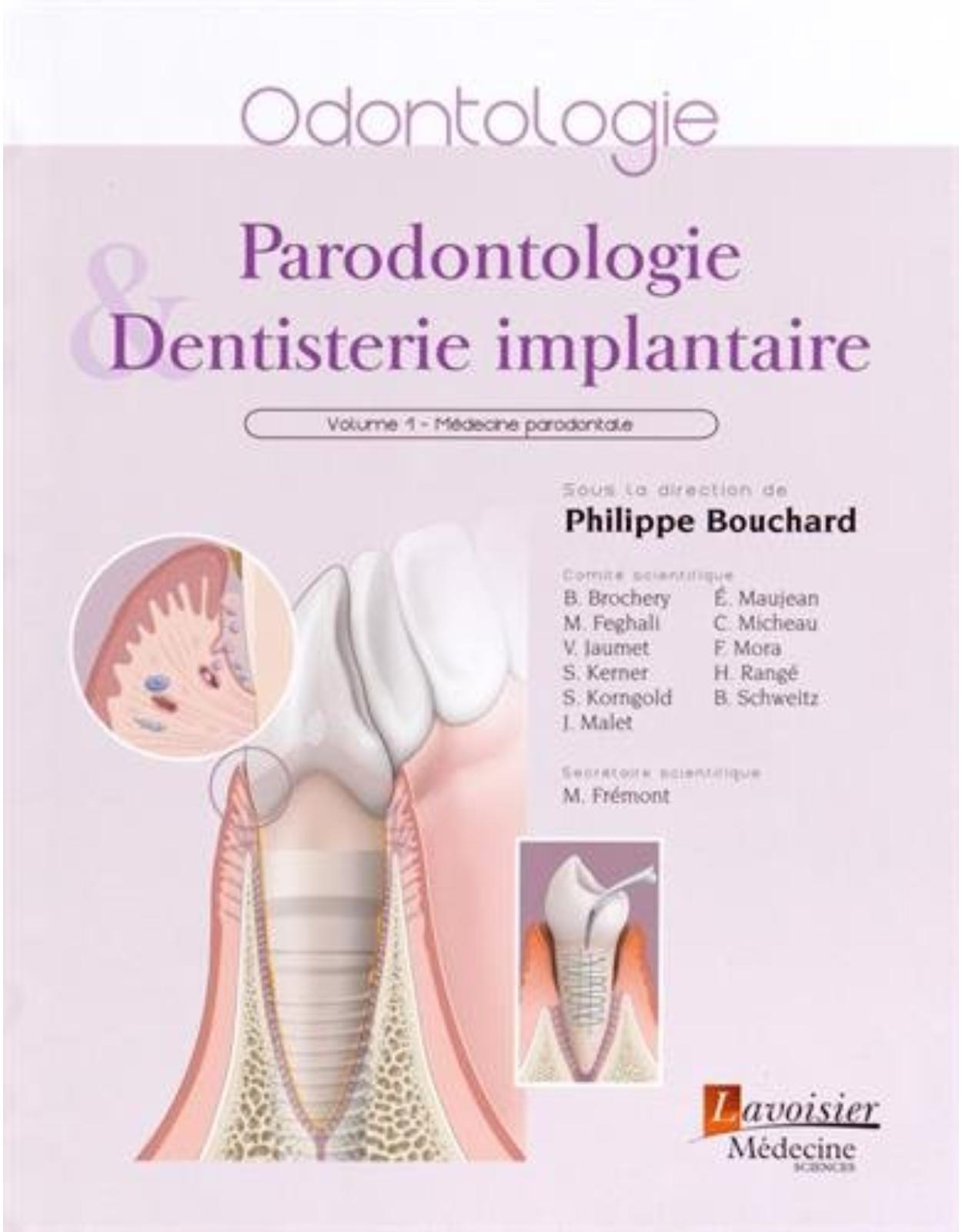 Parodontologie & dentisterie implantaire : Volume 1, Medicine parodontale