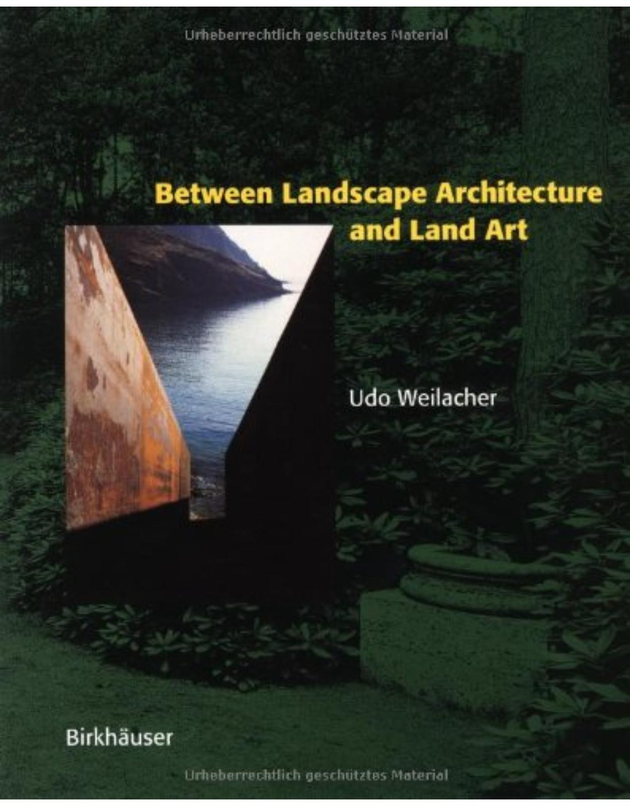 Between Landscape Architecture and Land Art: Special Edition