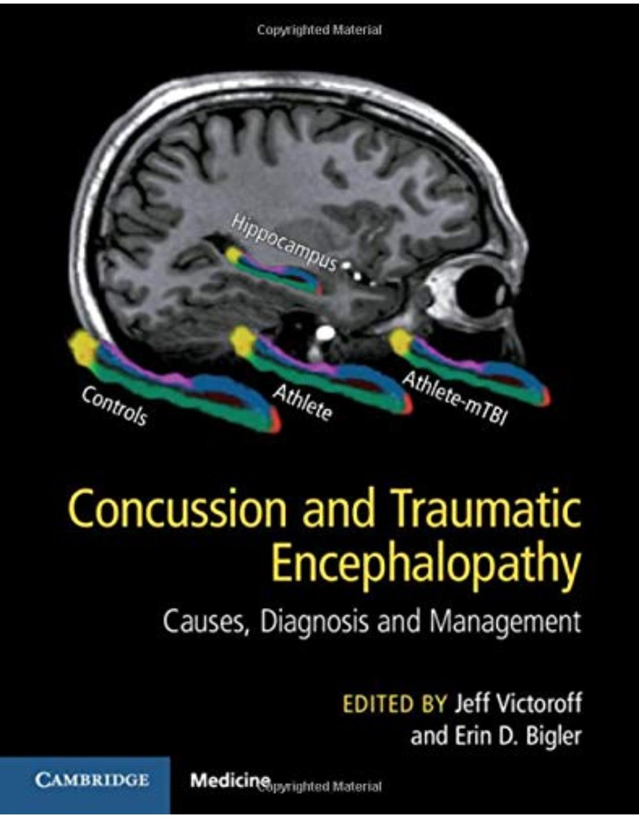Concussion and Traumatic Encephalopathy: Causes, Diagnosis and Management