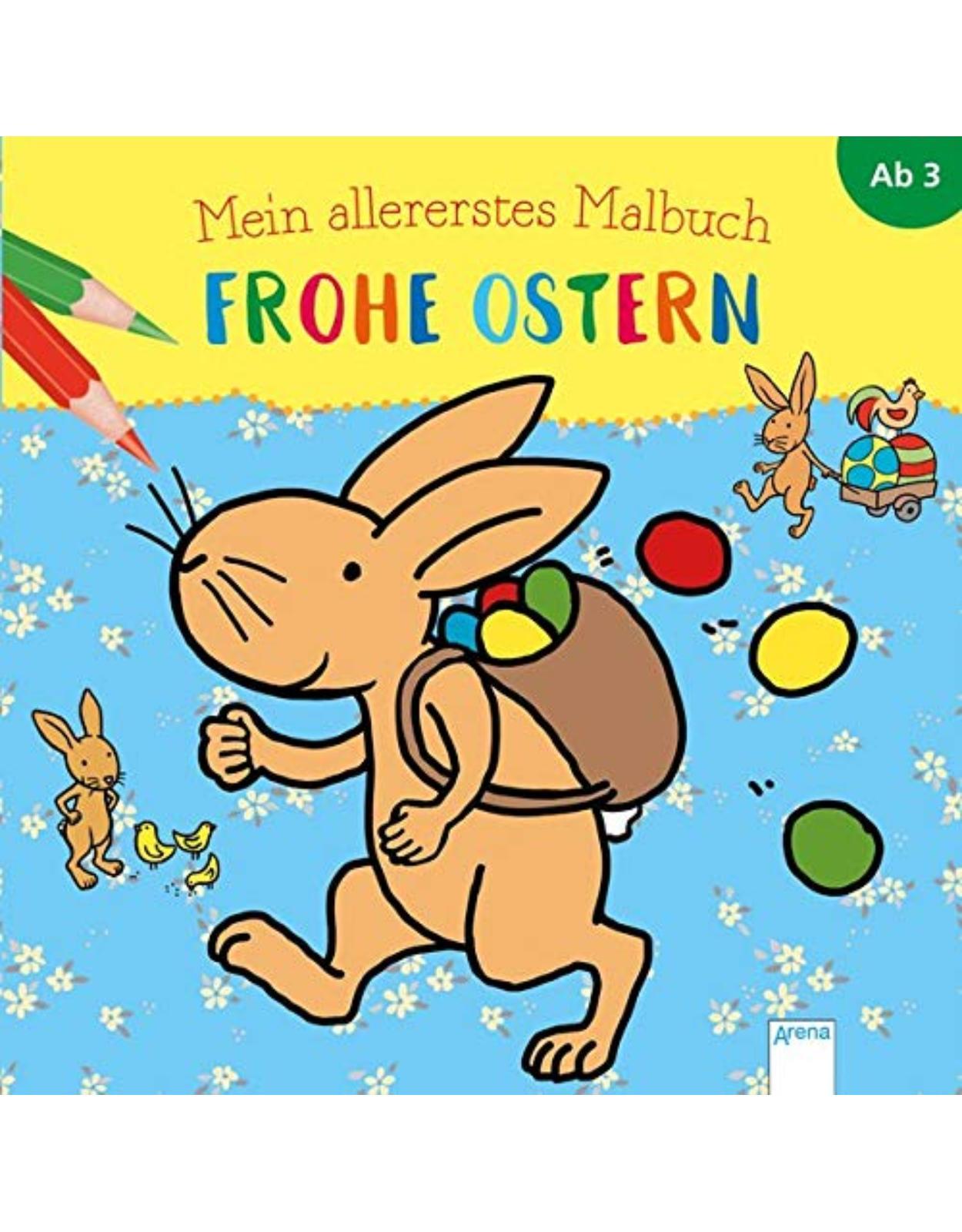Mein allererstes Malbuch. Frohe Ostern