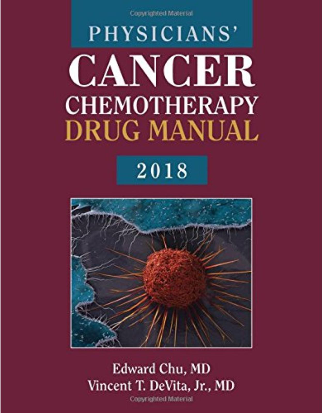 Physicians' Cancer Chemotherapy Drug Manual 2018
